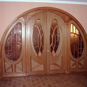 Арочные элитные двери