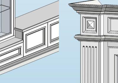 1 400x284 - Проектирование мебели, лестниц из массива дерева