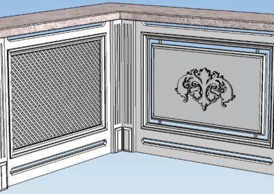 1 2 общий вид001 400x284 - Проектирование мебели, лестниц из массива дерева