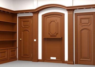 3 4 p 400x284 - Проектирование мебели, лестниц из массива дерева