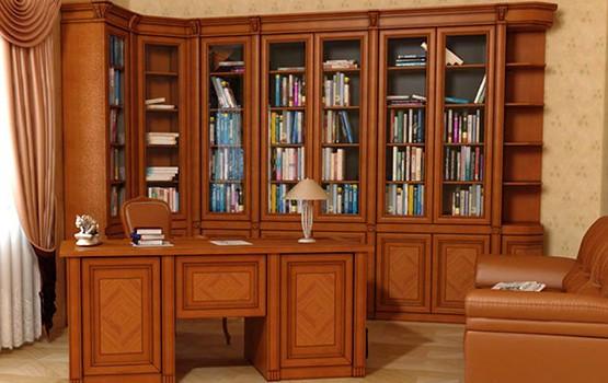 biblioteka iz massiva - Мебель из массива дерева от производителя, мебель ручной работы из натурального дерева на заказ