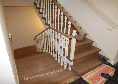 lestnica pramaya 4marsha 400x284 - Портфолио лестницы из массива