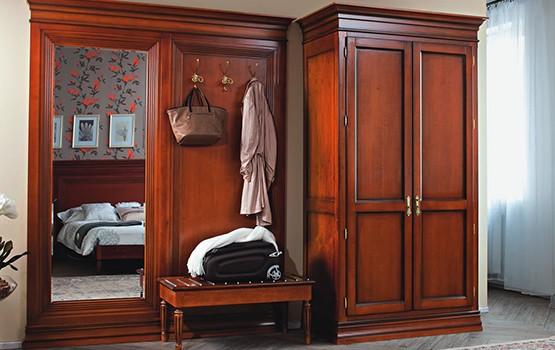 prihozhie iz massiva  - Мебель из массива дерева от производителя, мебель ручной работы из натурального дерева на заказ