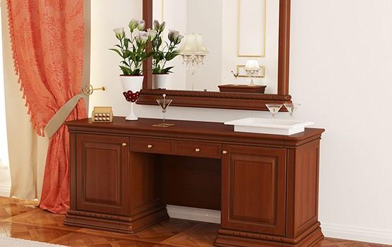 tualetnye stoliki iz massiva 1 - Мебель из массива дерева от производителя, мебель ручной работы из натурального дерева на заказ