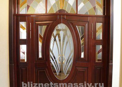 dver vhodnaya2 400x284 - Портфолио двери из массива
